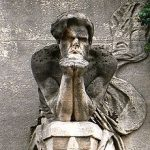 Кенотаф Бодлера на кладовище Монпарнас